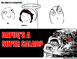 Memes Rage - super salad first rage comic by keller meme center