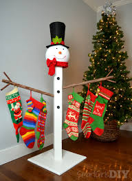 how to build a christmas stocking holder