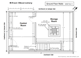 Concrete Block Floor Plans Bifrost Astronomical Observatory