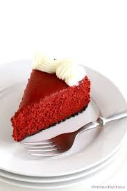 red velvet no bake cheesecake created by diane