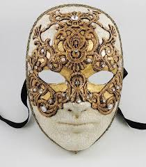 volto mask volto macrame gold wide shut mask visions of venice