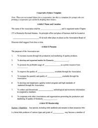 bylaws templates fillable u0026 printable online forms templates to