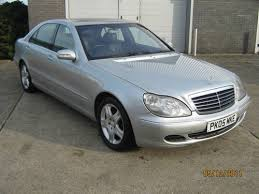 mercedes s class for sale uk 2005 05 mercedes s class s320 cdi auto wheelbase for