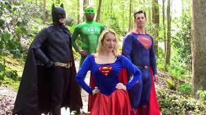 atlanta superhero party batman superman super green