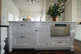 Microwave In Kitchen Island Lafourche Traditional