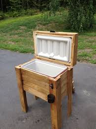 build a wooden cooler 1000 ideas about wooden chest on