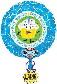 large birthday balloons large singing happy birthday balloon norwood ma florist