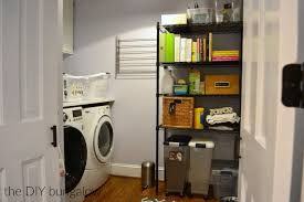 Diy Laundry Room Storage by Laundry Room Reveal The Diy Bungalow