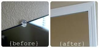 How To Remove Bathroom Mirror Vanities Waterfall Vanity Mirror Clips Vanity Mirror Clips How