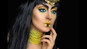 Cleopatra Makeup Tutorial Halloween Costume Ideas Youtube Cleopatra Halloween Makeup Tutorial Ina Pandora Mua Youtube