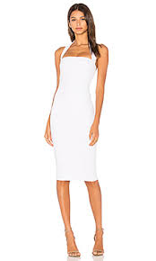 white dress nookie boulevard halter dress in white revolve