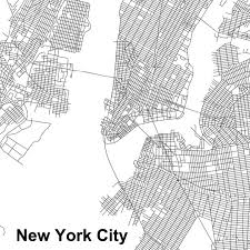 New York City Street Map by Urban Morphology These Maps Of Central New York City London