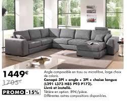 meubles lambermont promotion canapé 3pl angle 3pl chaise
