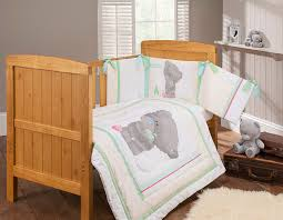Nursery Cot Bed Sets by Tiny Tatty Teddy Bedding Set 3 Pieces Amazon Co Uk Baby