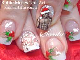 nail art outstanding santa nailt photos concept hattartwork salon