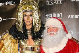 Halloween Heidi Klum by Heidi Klum Halloween Party The Belated Shindig Features Santa