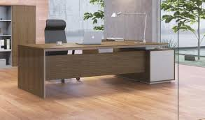 Office Tables Modern Sirius Office Table With Side Cabinet Boss U0027s Cabin