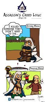 Assassins Creed Memes - assassins creed 3 logic part 5 freeplay mode assassins creed