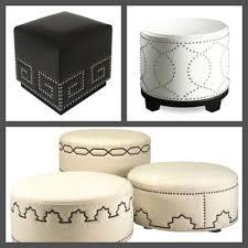 Build An Ottoman How To Build An Ottoman With A Decorative Nailhead Design