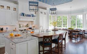 blue kitchen decorating ideas kitchen kitchen in luxury home with white cabinetry white