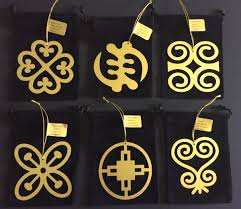 adinkra snowflake ornaments set of 6 it s a black thang