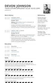 Art Resumes Sandwich Artist Resume Samples Visualcv Resume Samples Database