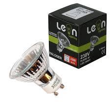 10 x gu10 50w halogen bulbs 230 240v lightbulbs amazon co uk diy