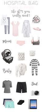 10 Must Bag Essentials What by Hospital Bag Must Haves What You Should Pack For Labor What