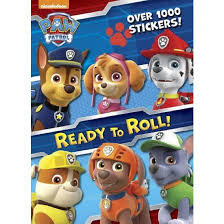 paw patrol ready roll nickelodeon paperback golden