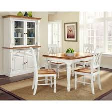 oak dining room sets for less overstock