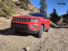 big red jeep 2017 jeep compass trailhawk compass almost finds its true north