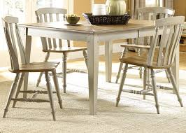 Two Tone Dining Room by Driftwood Taupe Two Tone Dining Barbos Furniture