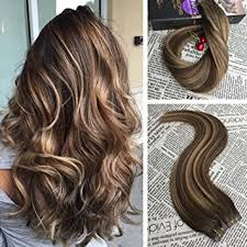 glued in hair extensions moresoo 16 inch glue in remy human hair extensions