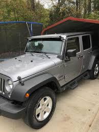 light brown jeep wrangler raxiom wrangler 50 in slim led light bar flood spot combo