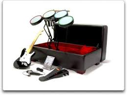 Rock Band Ottoman Nifty Ottoman Hides Your Rock Band Instruments