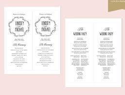 wedding ceremony program template free 29 images of wedding ceremony template microsoft word gieday