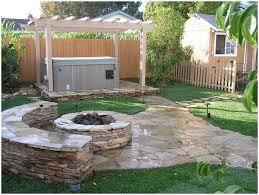 backyards bright small backyard ideas landscaping 8 walkout