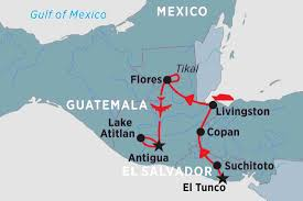 Mexico Central America And South America Map by Central America Tours Travel U0026 Trips Peregrine Adventures En Au
