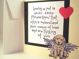 sympathy for loss of dog dog sympathy card for dog and loss of by sweetandsassycards