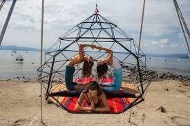 kodama zome a geometric hangout to share with friends contemporist