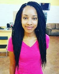 senegalese twist using marley hair marley twists medium size waist length braids pinterest