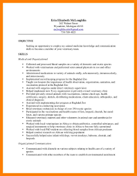 Resume For Veterinarian 6 Vet Assistant Resume Mla Cover Page