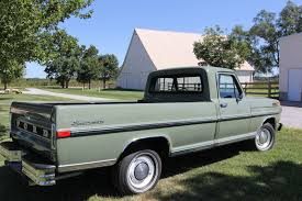 Living In A Garage 1971 Ford F 100 With 45k Miles Is So Much Want Ford Trucks Com