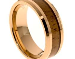 koa wedding bands koa wood thin s wedding band 6mm s