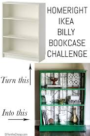 Bookshelf Makeover Ideas Ikea Billy Bookcase Makeover Erin Spain