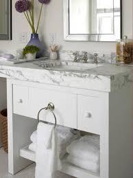 Bathroom Vanities With Marble Tops White Bathroom Vanity With Marble Top Calcutta Marble Cottage
