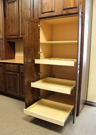 Pantry Cabinet With Pull Out Shelves by Pull Out Shelves Burrows Cabinets Central Texas Builder Direct