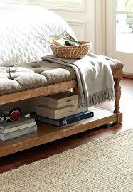 ottoman custom ottoman bench upholstered with turkish kilim