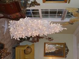 white slim tree pre lit princess decor