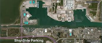 port canaveral map port canaveral parking a comparison of the options